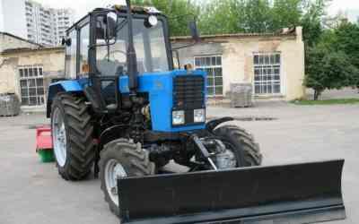 Уборка улиц и дорог от снега трактором - Сухиничи, цены, предложения специалистов