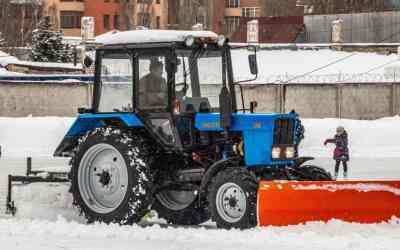 Уборка территорий. Снега. Мусора. Трактором - Калуга, цены, предложения специалистов