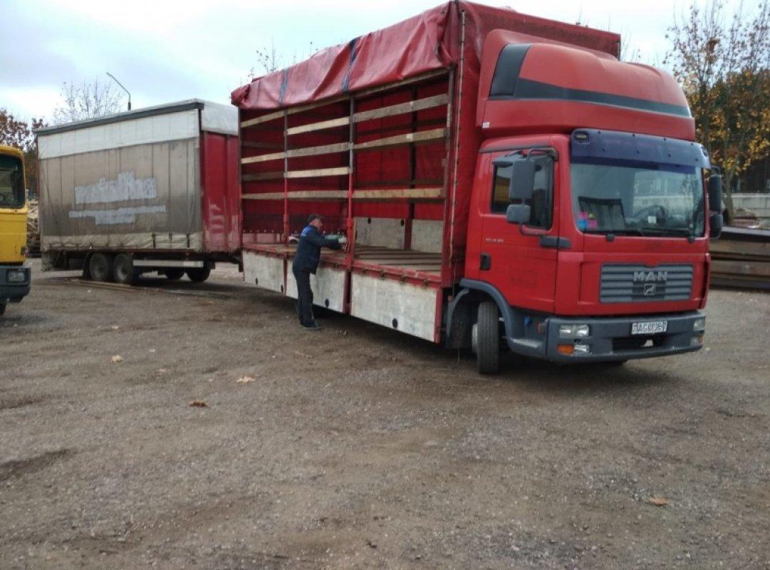 Аренда грузовика MAN с прицепом - Калуга, заказать или взять в аренду