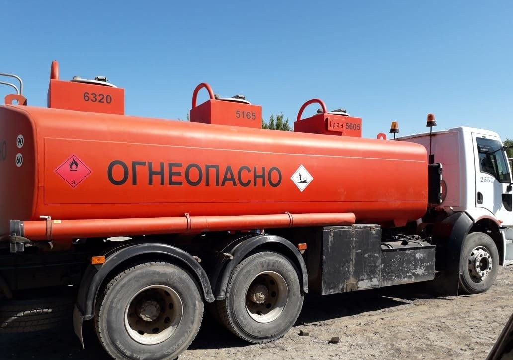 Доставка топлива цистерной бензовозом доставка бензина дизтоплива - Калуга, заказать или взять в аренду