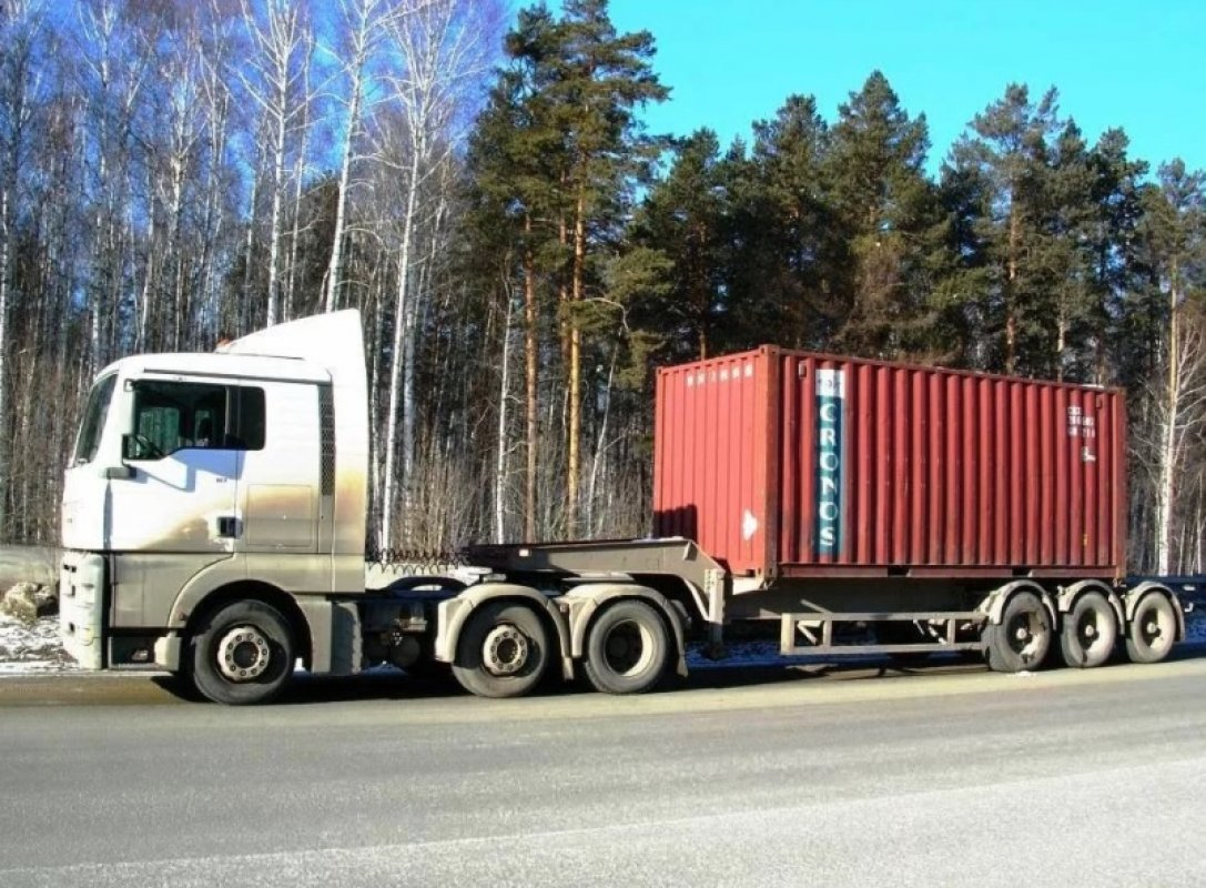 Полуприцеп, тягач MAN, Volvo - Калуга, заказать или взять в аренду